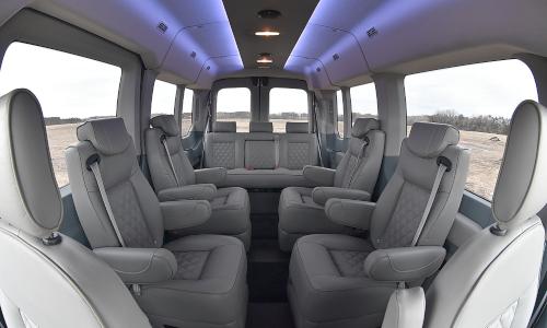 Waldoch Ford Transit Van Packages